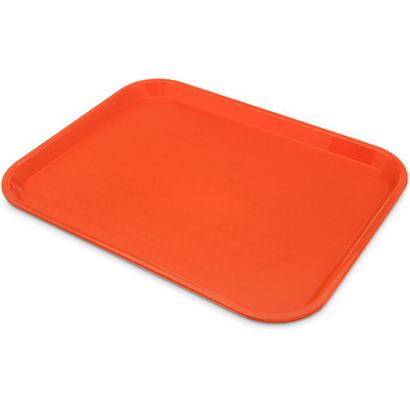 "CT141824 - Cafe® Fast Food Cafeteria Tray 14"" x 18"" - Orange"