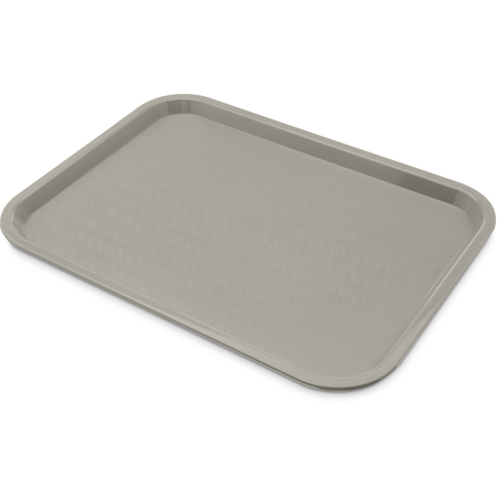 "CT121623 - Cafe® Fast Food Cafeteria Tray 12"" x 16"" - Gray"