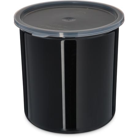 034203 - Poly-Tuf™ Crock w/Lid 2.7 qt - Black