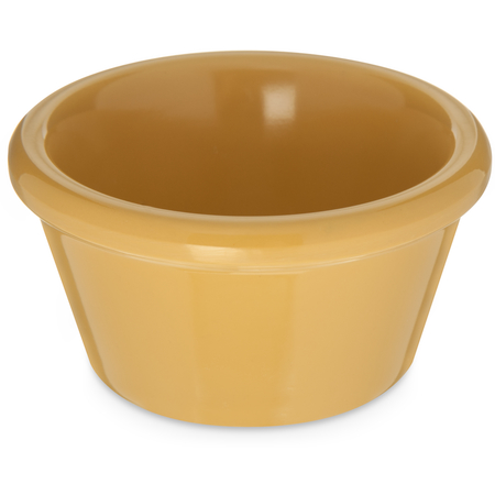085222 - Melamine Smooth Ramekin 2 oz - Honey Yellow
