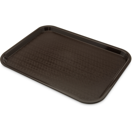 "CT1216-8169 - Cafe® Standard Tray 12"" x 16"" - Cash & Carry (6/pk) - Dark Brown"