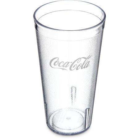 52203550A - Coca-Cola® Stackable™ SAN Plastic Tumbler 20 oz - Coke - Clear