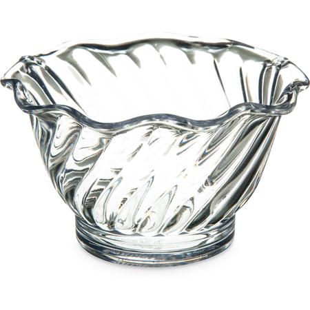 453007 - Tulip Dessert Dish 5 oz - Clear