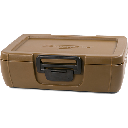 IT14043 - Cateraide™ IT Top Loading Insulated Food Pan Carrier 1 Full Size 4 Inch Pan - Caramel