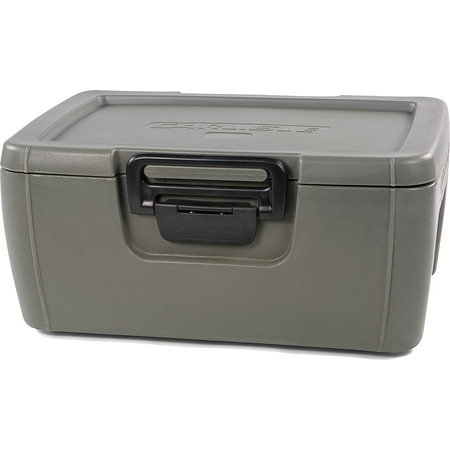 IT18062 - Cateraide™ IT Top Loading Insulated Food Pan Carrier 1 Full Size 8 Inch Pan - Olive
