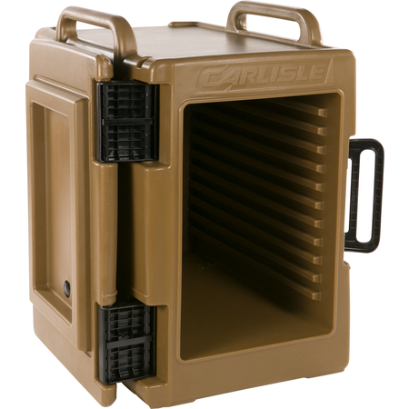 IT40043 - Cateraide™ IT End Loading Insulated Food Pan Carrier 6 Full Size 2.5 Inch Pans - Caramel