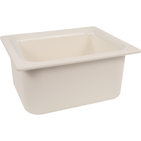 "CM110102 - Coldmaster® 6"" Deep Half-size Food Pan 6 qt - White"