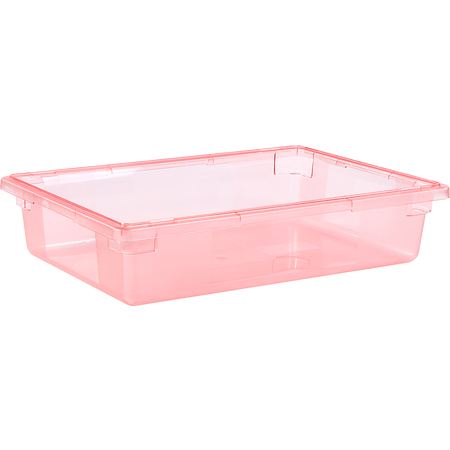"""10621C05 - StorPlus™ Color-Coded Food Box Storage Container 8.5 Gallon, 26"""" x 18"""" x 6"""" - Red"""