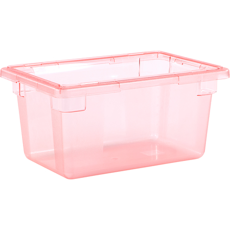 """10612C05 - StorPlus™ Color-Coded Food Box Storage Container 5 Gallon, 18"""" x 12"""" x 9"""" - Red"""