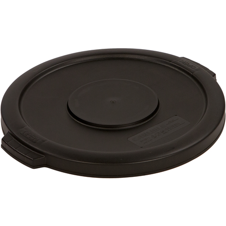 34101103 - Bronco™ Round Waste Bin Trash Container Lid 10 Gallon - Black