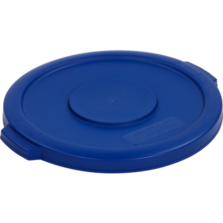34101114 - Bronco™ Round Waste Bin Trash Container Lid 10 Gallon - Blue