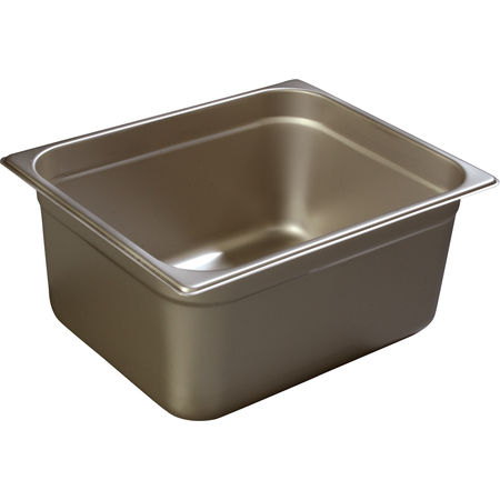 "608126 - DuraPan™ Half-Size Heavy Gauge Stainless Steel Steam Table Hotel Pan 6"" Deep - Stainless Steel"
