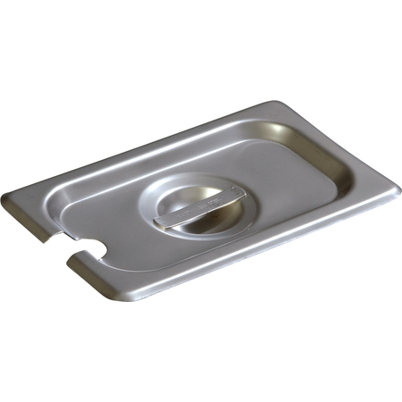 607190CS - DuraPan™ Ninth-Size Stainless Steel Hotel Pan Slotted Handled Cover