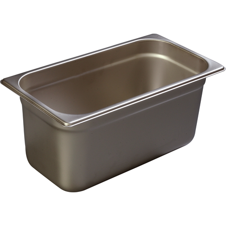 """608136 - DuraPan™ Third-Size Heavy Gauge Stainless Steel Steam Table Hotel Pan 6"""" Deep - Stainless Steel"""