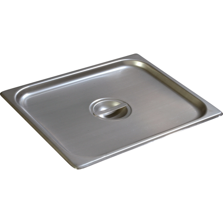 607120C - DuraPan™ Half-Size Stainless Steel Steam Table Hotel Pan Handled Cover