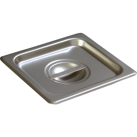 607160C - DuraPan™ Sixth-Size Stainless Steel Steam Table Hotel Pan Handled Cover