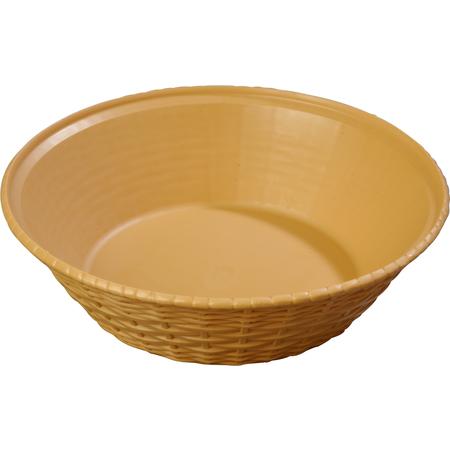 """652467 - WeaveWear™ Round Basket 9"""" - Straw"""