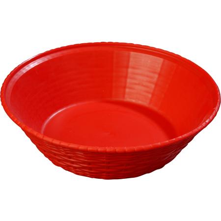 652405 - WeaveWear™ Round Basket 1.6 qt - Red