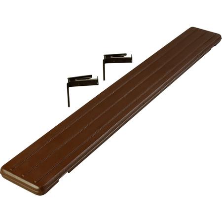 662101 - Six Star™ Food Bar Tray Slide 6' - Brown
