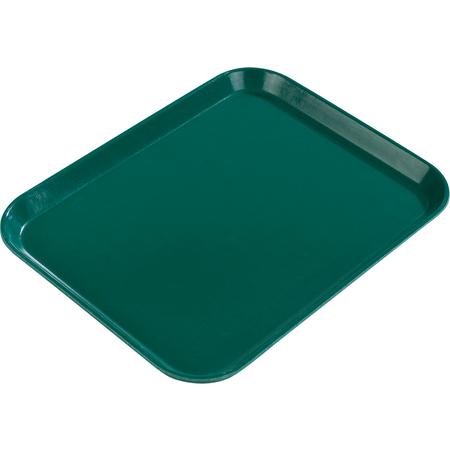 """2015FG010 - Glasteel™ FiberglassTray 20.25"""" x 15"""" - Forest Green"""
