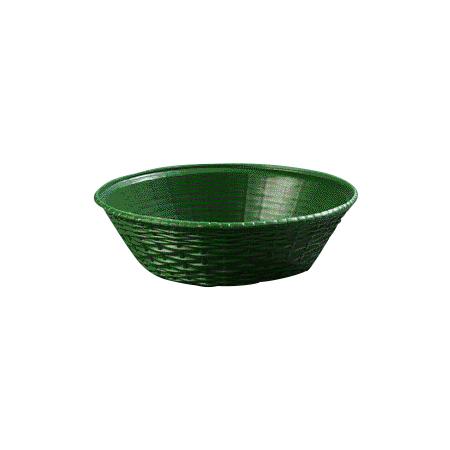 "652409 - WeaveWear™ Round Basket 9"" - Green"