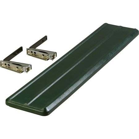 662008 - Six Star™ Food Bar Tray Slide 4' - Forest Green