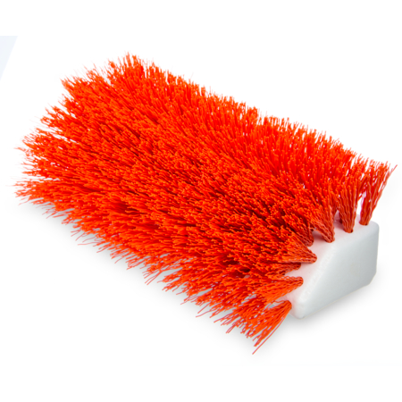 "4042324 - Sparta® Hi-Lo™ Floor Scrub Brush 10"" - Orange"