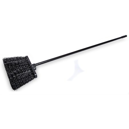 "3688403 - Duo-Sweep® 13"" Unflagged Warehouse Broom with 48"" Black Metal Handle 48"" - Black"