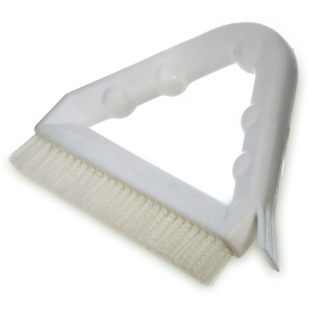 "4132302 - Spectrum® Tile & Grout Brush With Nylon Bristles 9"" - White"