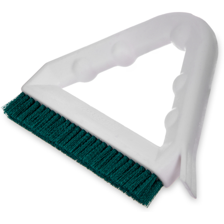 "4132309 - Spectrum® Tile & Grout Brush With Polyester Bristles 9"" - Green"