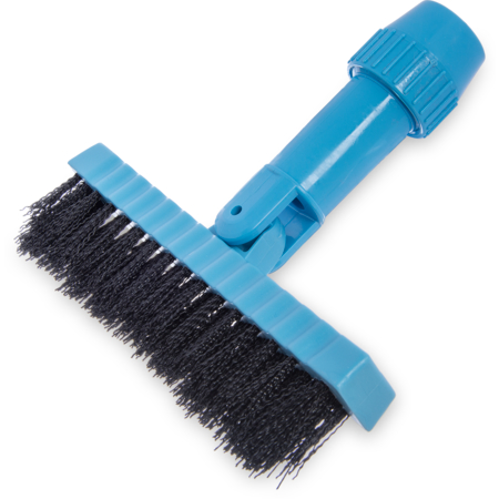 "36532003 - Swivel Head Grout Line Brush, Nylon Bristle 7-1/2"" - Black"