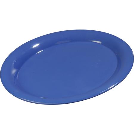 """3308014 - Sierrus™ Melamine Oval Platter Tray 13.5"""" x 10.5"""" - Ocean Blue"""