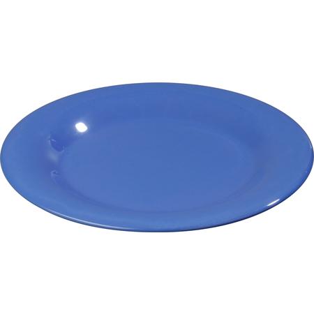 """3301014 - Sierrus™ Melamine Wide Rim Dinner Plate 10.5"""" - Ocean Blue"""