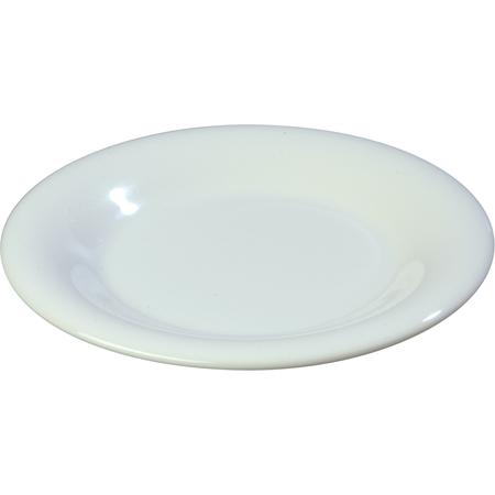 """3301602 - Sierrus™ Melamine Wide Rim Salad Plat 7.5"""" - White"""
