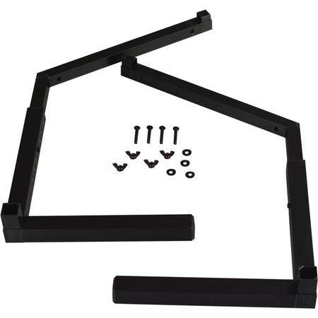 994803 - Adjustable Sneeze Guard Legs Singled-Sided - Black