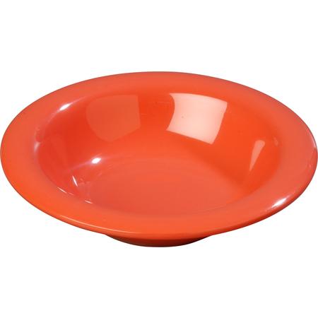 3304052 - Sierrus™ Melamine Rimmed Bowl 9 oz - Sunset Orange