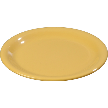 "3300822 - Sierrus™ Melamine Narrow Rim Pie Plate 6.5"" - Honey Yellow"
