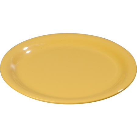 "3300422 - Sierrus™ Melamine Narrow Rim Dinner Plate 9"" - Honey Yellow"