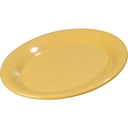"3308622 - Sierrus™ Melamine Oval Platter Tray 9.5"" x 7.25"" - Honey Yellow"