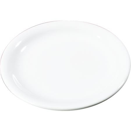"3300802 - Sierrus™ Melamine Narrow Rim Pie Plate 6.5"" - White"