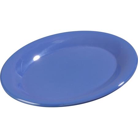 """3308614 - Sierrus™ Melamine Oval Platter Tray 9.5"""" x 7.25"""" - Ocean Blue"""