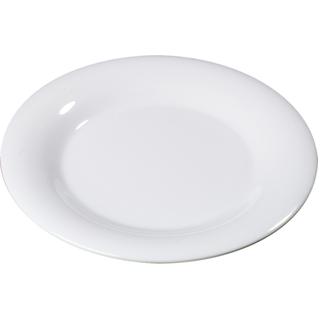 "3302402 - Sierrus™ Melamine Wide Rim Dinner Plate 12"" - White"
