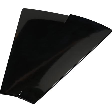 """3332603 - Rave™ Trapezoid Platter 15.380"""" - Black"""