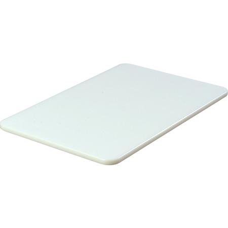 """1088102 - Spectrum® Cutting Board 12"""" x 18"""" x 1/2"""" - White"""