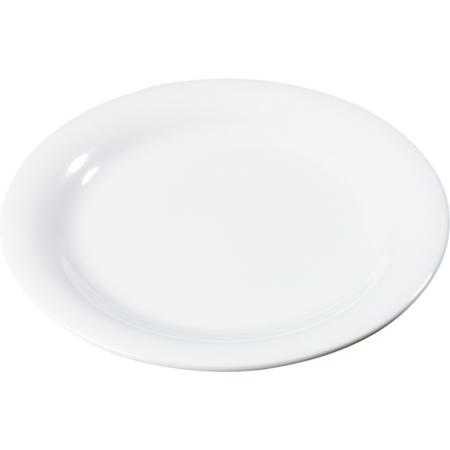 """3300402 - Sierrus™ Melamine Narrow Rim Dinner Plate 9"""" - White"""