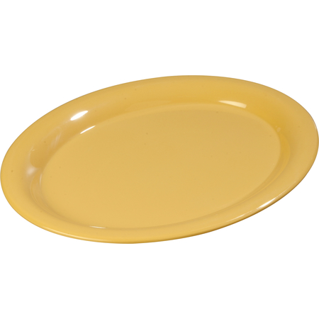 "3308022 - Sierrus™ Melamine Oval Platter Tray 13.5"" x 10.5"" - Honey Yellow"