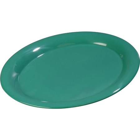 "3308009 - Sierrus™ Melamine Oval Platter Tray 13.5"" x 10.5"" - Meadow Green"