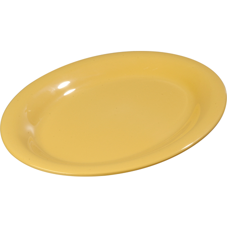 "3308222 - Sierrus™ Melamine Oval Platter Tray 12"" x 9"" - Honey Yellow"