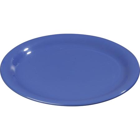 """3300414 - Sierrus™ Melamine Narrow Rim Dinner Plate 9"""" - Ocean Blue"""