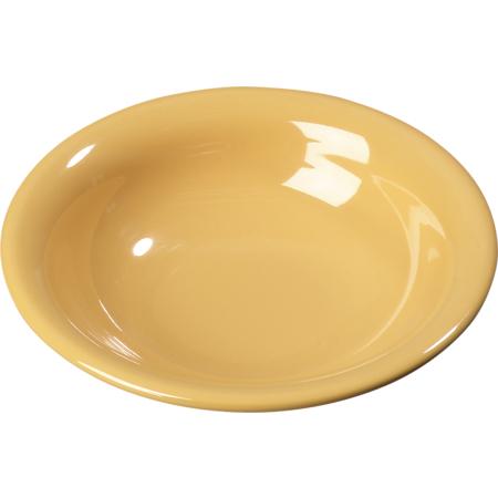 3303222 - Sierrus™ Melamine Rimmed Bowl 16 oz - Honey Yellow